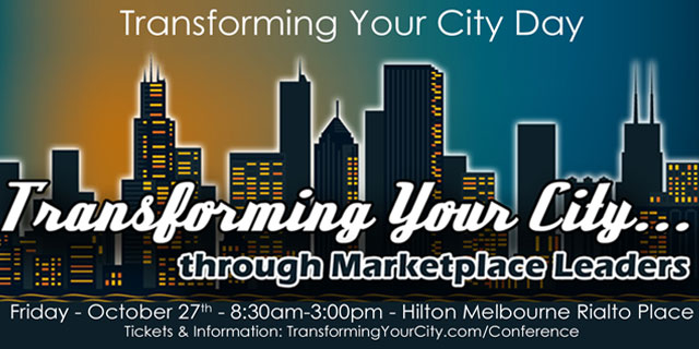 Transforming Your City Melbourne Conferenece