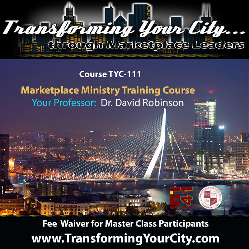 Transforming Your City Master Class