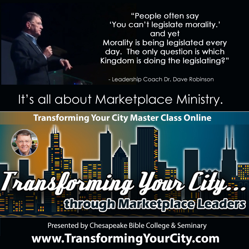 Transforming Your City MasterClass Online