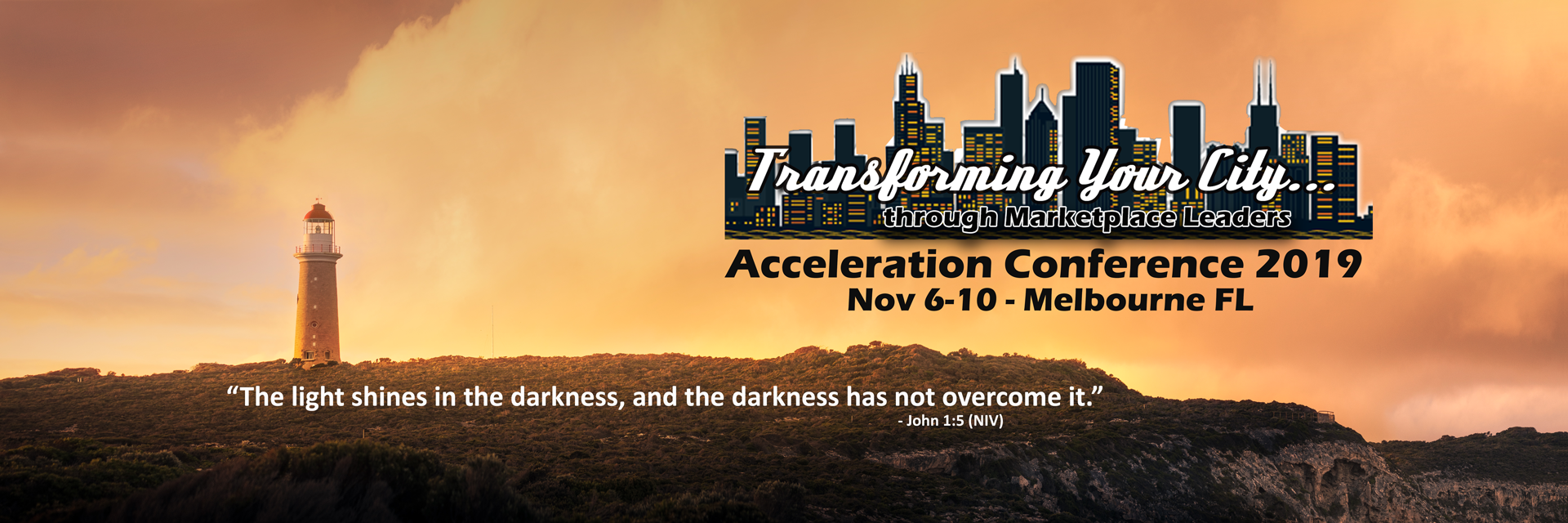 Transforming Your City Acceleration Conference 2019