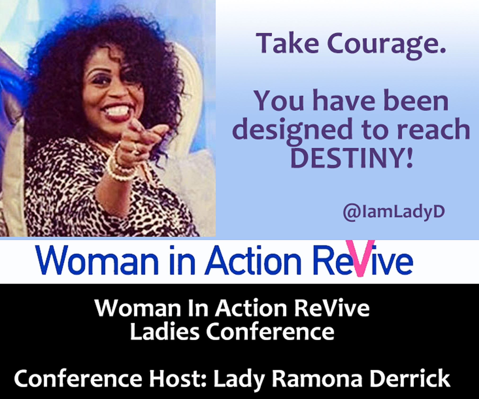 Woman in Action - ReVive Ladies Conference