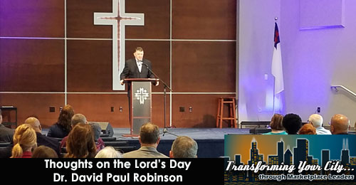 Thoughts on the Lord's Day – 10/11/20
