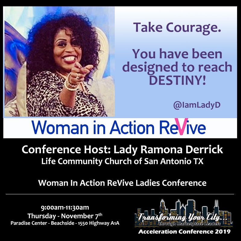 Woman in Action ReVive Ladies Conference & Luncheon
