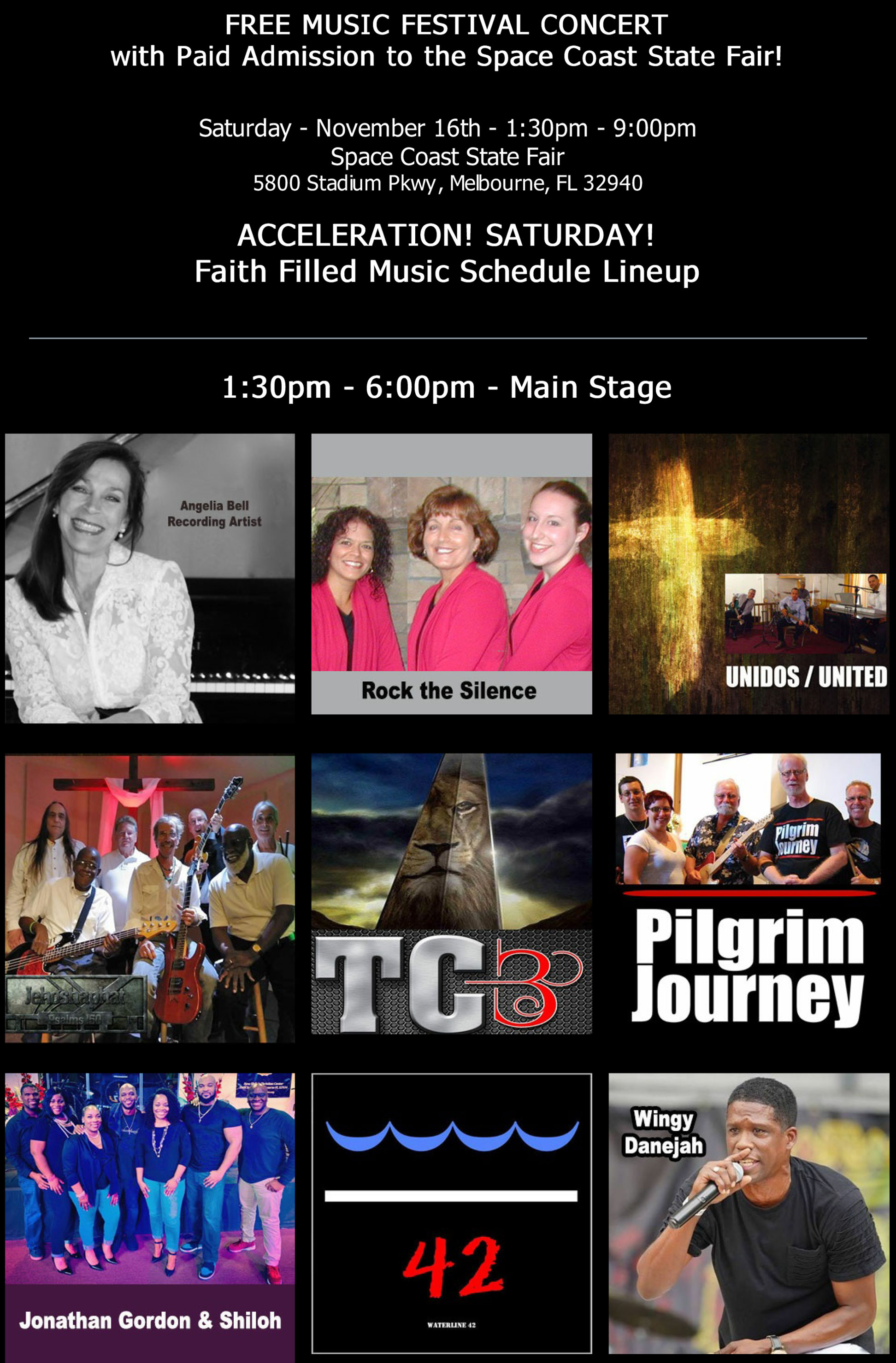 Acceleration! Faith Filled Music Festival