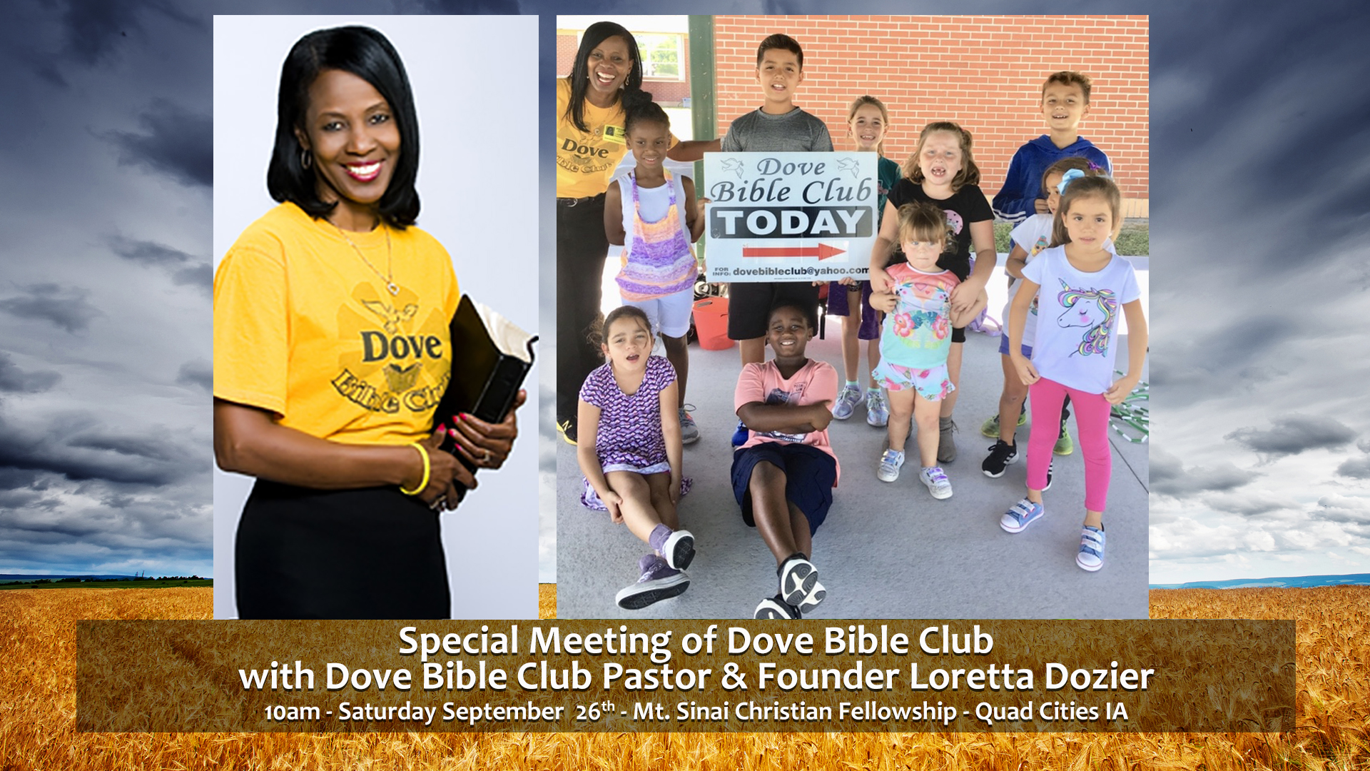 Dove Bible Club Meeting