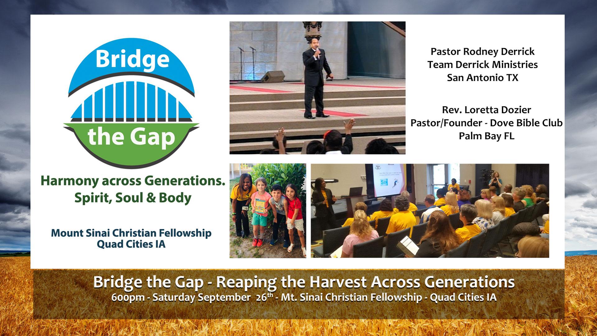 Bridge the Gap Conference